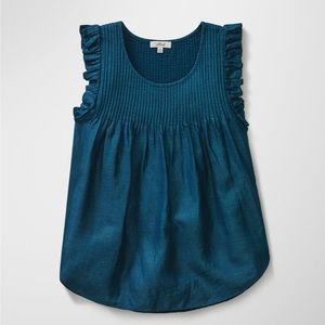 Wilfred Valmer Teal blouse Sz:XS